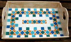 Resultado de imagem para bandejas de mosaico