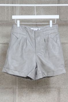 HIGHWAIST FAUX LEATHER SHORTS $35.00 WHAT a DEAL!