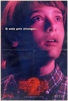 #StrangerThings - Season 2, Character poster of Will Byers.