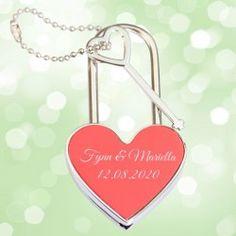 Herzschloss bzw. Liebesschloss als Hochzeitsgeschenk