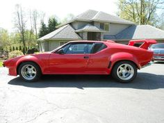 1972 Detomaso Pantera GT-5 / Drove one. '71 Hemi 'Cuda could literally kill this car, by frightening it to death.