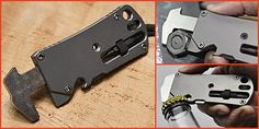 Titanium Pocket Tool - this one is new to me, appears to be from PocketToolX (now owned by Leatherman)