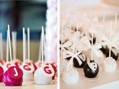Cake Pops from Wedding Concepts