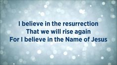 This I Believe (The Creed) [Lyrics] - Hillsong Worship