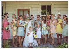 How To Dress Your Bridesmaids