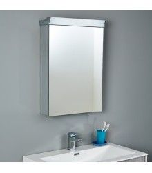 Soakology Halo 550mm Illuminated Mirrored Cabinet