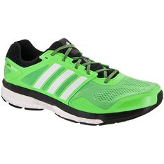 Adidas supernova Glide 7 Boost Flash Green/White/Black Running Shoes –  Men's Shoes Online Shop