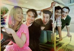 Big Bang Theory cast! Love them and the show!