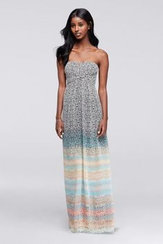 Long Strapless Patte