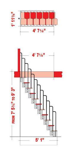 Karina attic stairs loft stairs