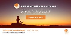 Join the #MindfulnessSummit, a not for profit, FREE 31 day online event with over 30 of the worlds leading experts on meditation & mindfulness giving you the tools to live with more peace, purpose and wisdom. Its free from 1st-31st Oct, so register now. Featuring Jon Kabat-Zinn, Arianna...