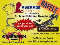Archery Raffle - Obsession Turmoil RZ and Mission MXB-360 Crossbow