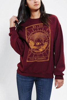 The Elements cosmic pullover sweatshirt #urbanoutfitters