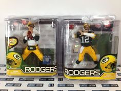 McFarlane NFL 29/30 - AARON RODGERS - GREEN BAY PACKERS MVP - 2 Figure Set NEW!