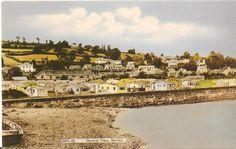 Shaldon Holiday Camp - original postcard circa - No longer there since around 1990 - now sited there is the Midas Homes development Dorset Coast, Devon, Paris Skyline, Camping, Homes, The Originals, Places, Holiday, Travel