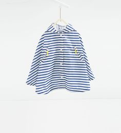 Image 1 of Printed cape from Zara