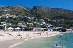 Bikini Beach - with blue flag status - Gordons Bay - Cape Town South Beach Bikini, Most Beautiful Cities, Cape Town, Bay Area, South Africa, Surfing, Bikinis, Travel, Outdoor