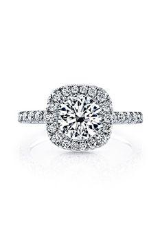 Eva Round Cushion : round, cushion, Anillos, Compromiso, Matrimonio, Ideas, Engagement, Rings,, Wedding, Jewelry, Rings