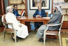 """#موسوعة_اليمن_الإخبارية l قائد مقاومة تعز """"المخلافي"""" يظهر في الرياض بصورة """"مفاجئة"""""""