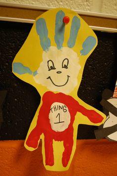 Dr Seuss craft