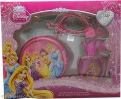 Disney Beautiful As A Rose dárková sada 50ml EDT + pouzdro + náramek