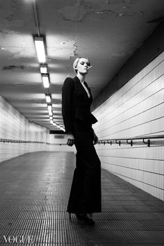 subway fashion photography -  - Displaced sophistication / feeling misplaced.