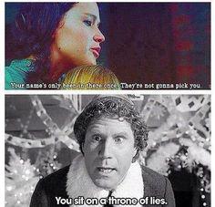 Katniss vs. Buddy
