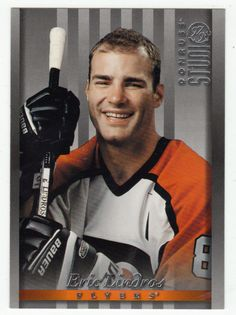 Eric Lindros # 3 - 1997-98 Donruss Studio Hockey