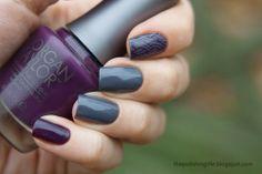 Morgan Taylor: Sweater Weather & Royal Treatment  #nails #nailart #stamping #morgantaylor #moyou #sweaternails