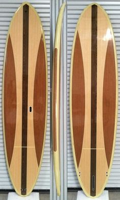 11'0 STAND UP PADDLE BOARD WOOD VENEER DECK SUP FCS FIN PLUGS SHILSHOE BAY PUGET on eBay!
