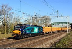 Net Photo: 68005 Direct Rail Services (DRS) Vossloh Class 68 at Crewe, Cheshire, United Kingdom by Jonathan King Jonathan King, Uk Rail, Diesel Locomotive, United Kingdom, Around The Worlds, April 22, Stone, Live, Board