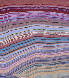 Mary Anne Nampijinpa Michaels Lappi Lappi Jukurrpa (Lappi Lappi Dreaming) 2011  1220 x 1070mm