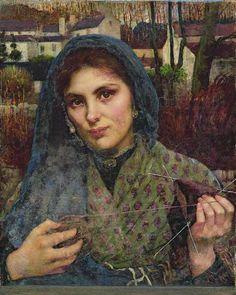 The Dreamer (1887), Annie Louisa Swynnerton