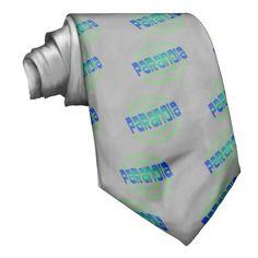 paranoia neck tie