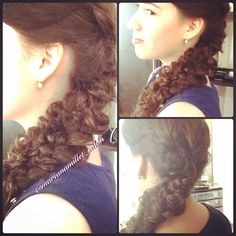 Braid, style, hairstyle