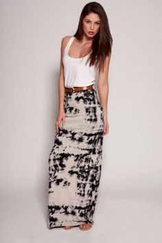 maxi-skirts!