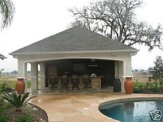 detail pool house plans complete - Pool House Designs Ideas