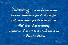 funny swimming quotes - Google Search Blank Bar Graph, Bar Graphs, Swimming, Google Search, Funny, Quotes, Swim, Quotations, Ha Ha