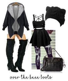 Designer Clothes, Shoes & Bags for Women Over The Knee Boots, Shoe Bag, Polyvore, Stuff To Buy, Shopping, Collection, Shoes, Design, Women