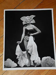 Prior To Broadway Carol Channing starring in Charles Gaynor's production of Show Business 1959