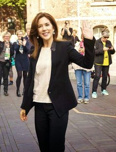 """Princess Mary attended the conference """"children in town"""" at the University of Southern Denmark in Odense."""