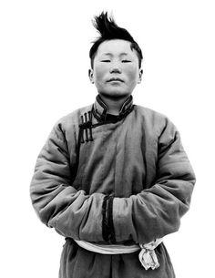young Mongolian man