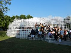 Fujimoto's Serpentine Pavilion Receives High Praise from Critics
