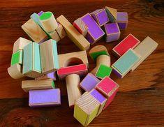 Make your own velcro blocks!