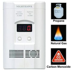 Lower Price with Natural Gas Detector Combustible Gas Sensor Analyzer Leak Determine Tester Led Alarm For Home Security System Methane Attractive Appearance Carbon Monoxide Detectors