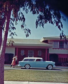 1955 Chevrolet Nomad 2 Door Station Wagon..Re-pin brought to you by agents of #CarInsurance at #HouseofInsurance in Eugene97401