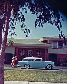 1955 Chevrolet Nomad 2 Door Station Wagon