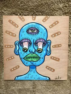 hippie painting ideas 801429696178162081 - ideas painting wood art artworks Source by atlantistic Cute Canvas Paintings, Easy Canvas Art, Small Canvas Art, Mini Canvas Art, Hippie Painting, Trippy Painting, Wood Painting Art, Wood Art, Painting Abstract