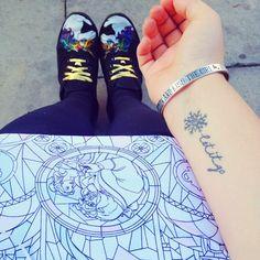 23 Tiny and Adorable Disney Princess Tattoos