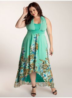 8270ad296bc iggi-Olympia Plus Size Maxi Dress  3A0052JDE  -  190.00   Plus Size Clothing